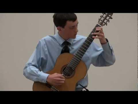 Alexander Stroud at Sacramento Guitar Society - Villa-Lobos - Prelude 1