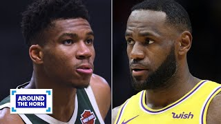 Lakers or Bucks?: Which team is more impressive? | Around the Horn