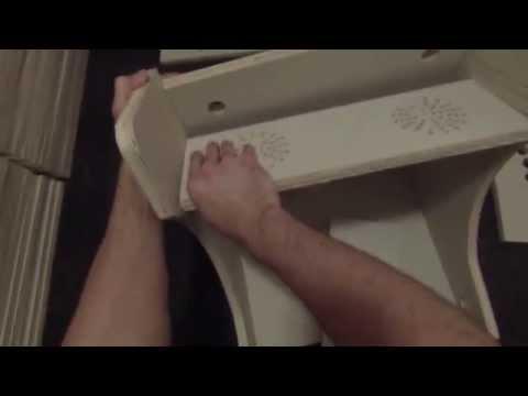 Bartop/Tabletop Arcade Cabinet DIY Build Video