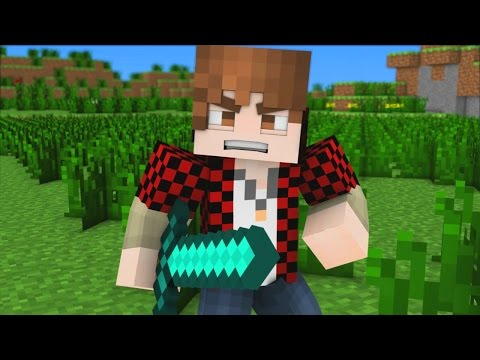 """♪ """"Bajan Canadian Song"""" - A Minecraft Parody Song (Music Video)"""