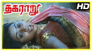 Thagararu movie climax scene | Arulnithi, Poorna, Aadukalam Murugadoss dead | End Credits