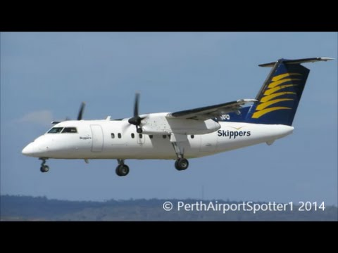 Hello again! Today video is Skipper Aviation Dash 8-100 landing on 03. I'm not sure where this plane came though, sorry about that. Anyways I went spotting a...