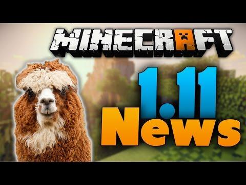Minecraft 1.11 Update News: Lamas & Launcher-Update & Minecraft-Film-Release