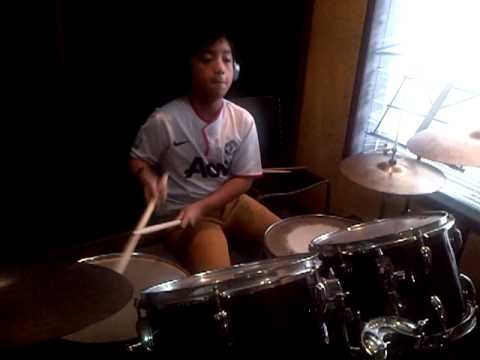 Rayhan drum solo (10 years old)