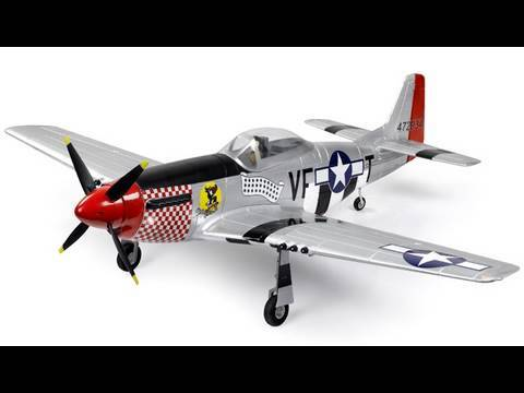 New P-51 Mustang w/ Retracts Unboxing and Overview