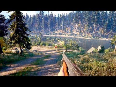 Far Cry 5 - 8 Minutes of New Gameplay (Extended E3 Demo) | Gamescom 2017 (1080p)