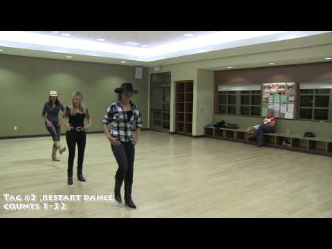Footloose 2011 - Official Dance Adaptation Tutorial - Fake ID Linedance