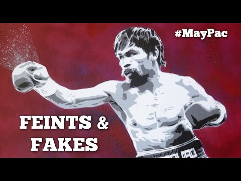 Mayweather vs Pacquiao: Signature Techniques #9 - Pac's Feints & Fakes