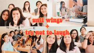 UNLI WINGS + TRY NOT TO LAUGH CHALLENGE