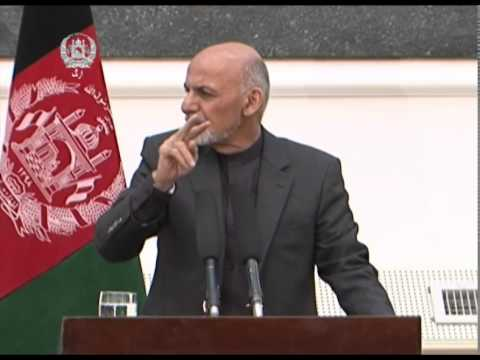 President Ghani & US Sec of Defence Chuck Hagel Joint Press Conference - December 06, 2014