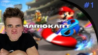 I F**KING HATE CORNERS! | Mario Kart 8