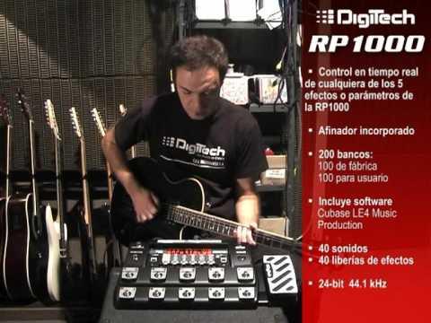 DigiTech RP1000 por Diego Mizrahi