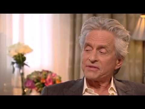 Michael Douglas tells Ireland AM what it's like to kiss Matt Damon
