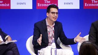 Vagelis Karathanos at the 23rd Economist Roundtable with the Government of Greece