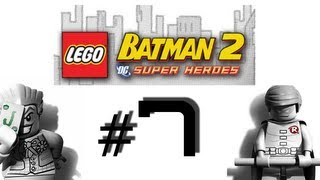 Lego Batman 2_ DC Super Heroes Walkthrough / Gameplay Part 7 - TV Treadmills