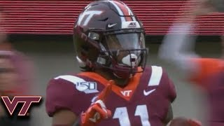 Virginia Tech's Tre Turner Has His Best Game Of The Season vs. UNC