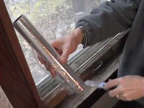 Insulating old double-hung windows
