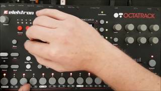 Live set explanation/deconstruction pt1 // Elektron Octatrack, Analog Four, Roland System 1m
