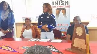 ShaCarri Richardson's Signing Day at Carter High School 2017