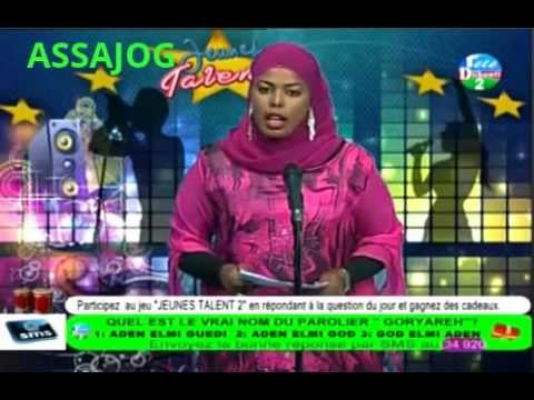 Djibouti: Jeunes Talents2  somali 07/10/2014