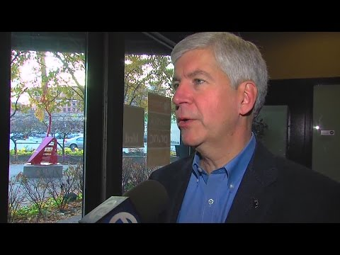 Governor Snyder post election
