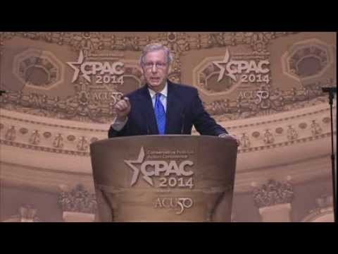 CPAC 2014 - U.S. Senator Mitch McConnell (R-KY)
