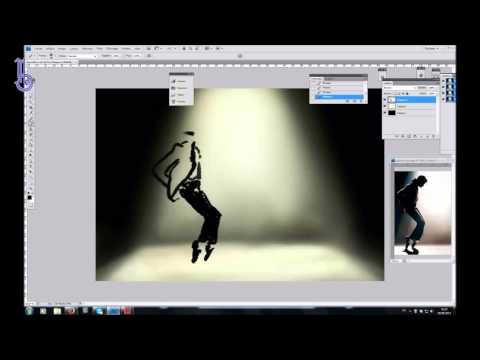 [SERIE] Speedart hommage - Michael Jackson