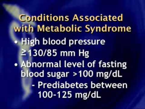 Health: Implications of Metabolic Syndrome on Heart Disease