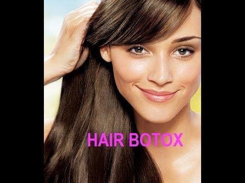 HAIR BOTOX TREATMENT -100% Formaldehyde FREE