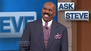 Ask Steve: Yeah, a girl asked me to marry her || STEVE HARVEY