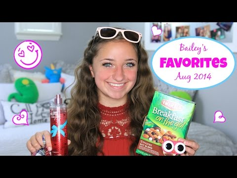 Bailey's Aug 2014 Favorites | Brooklyn and Bailey