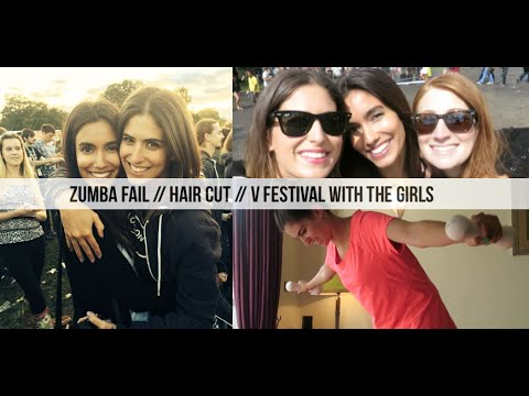 Zumba Fail, Hair Cut & V Festival with the Girls // Lily Pebbles