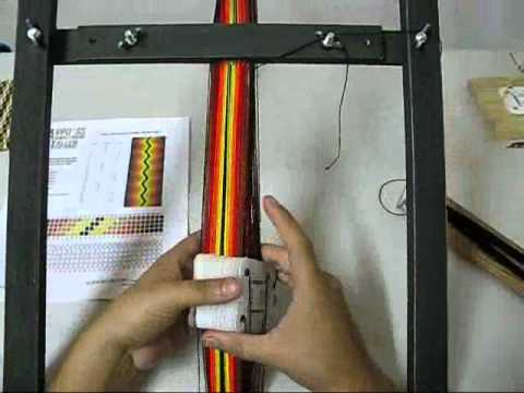 Telar Egipcio o Tablet Weaving.wmv