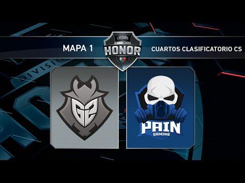PAIN GAMING vs G2 VODAFONE - Torneo Acceso Clasificatorio Challenger - Mapa 1