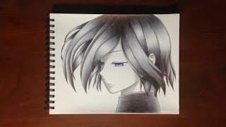 Drawing Touka Kirishima - Tokyo Ghoul