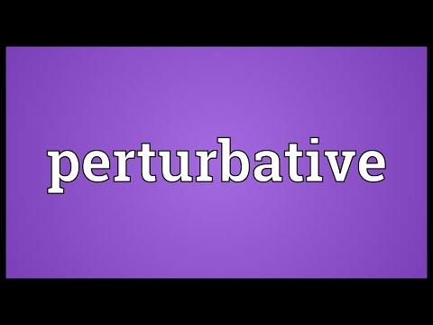 Header of perturbative