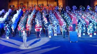 Basel Tattoo 2015 Finale Will Martin, Neuseeland
