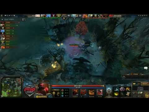 Invasion vs 5eva Game 1  joinDOTA MLG Pro League Season 2  Durkadota Scantzor