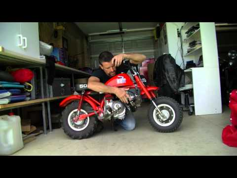 Honda Z50R Z110 Hard Core Monkey