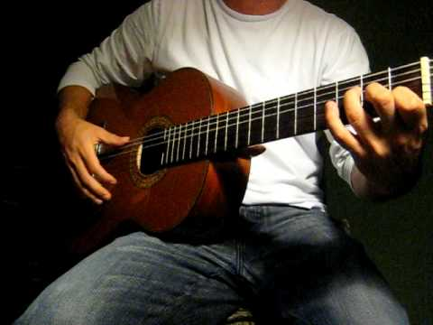 Flamenco Guitar (Soleá) Compás Rasgueado E E7 FEFE (1)