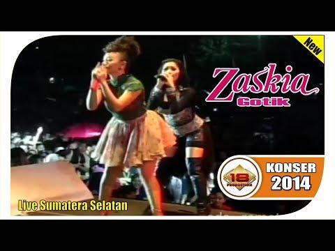 "SI GOYANG ITIK! ""ZASKIA GOTIK"" PANASKAN SUASANA ...  (LIVE KONSER SUMATERA SELATAN 2014)"