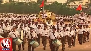 RSS Celebrates Vijayadashami Utsavam At NTR Stadium | Hyderabad