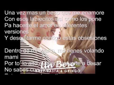 Un beso baby rasta Y gringo oficial lyric video