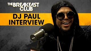DJ Paul On Pioneers Of The Crunk-Era, Releasing New Music & More