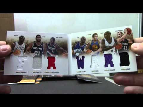 ACE's 2012/13 Preferred Basketball Box Break