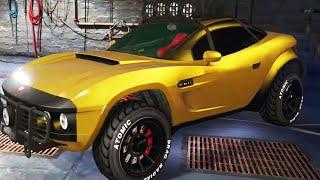 "GTA V - Pimp My Ride | Coil Brawler ""Local Motors Rally Fighter"" Car Tuning Customization (GTA V)"