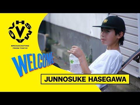 [WELCOME] JUNNOSUKE HASEGAWA / 長谷川絢之介