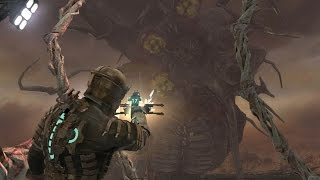Dead Space final boss fight and ending