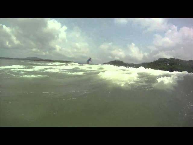 surfing tamarindo costa rica HD