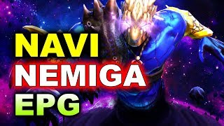 NAVI vs Nemiga + EPG - MAINCAST Autumn Brawl DOTA 2